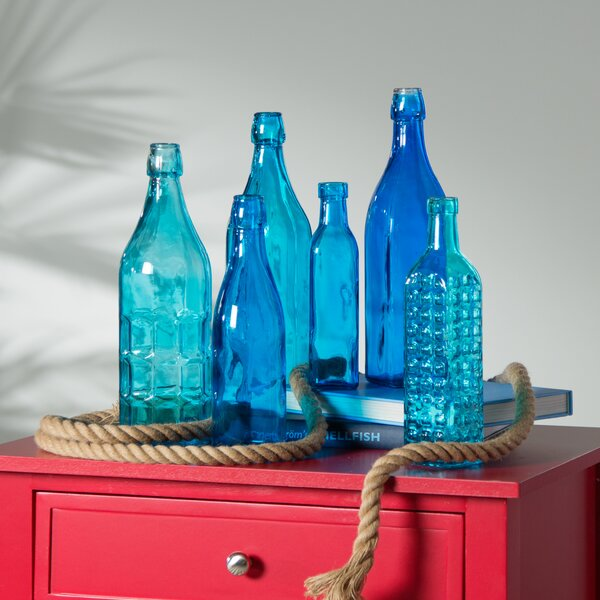 Ronda 6 Piece Decorative Bottle Set by Beachcrest Home