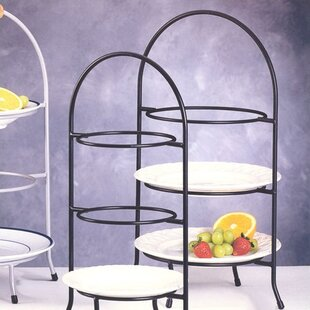 Huntley 3 Tier Dessert Plate Rack & Tiered Plate Rack | Wayfair