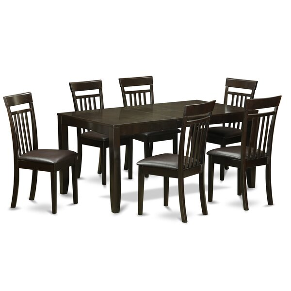 Missoni Home Dining Chair Miss: (Best) Lynfield 7 Piece Extendable Dining Set By East West