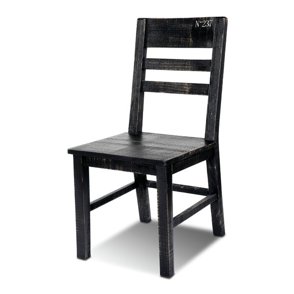 Sandie Solid Wood Dining Chair (Set Of 2) By 17 Stories Purchase