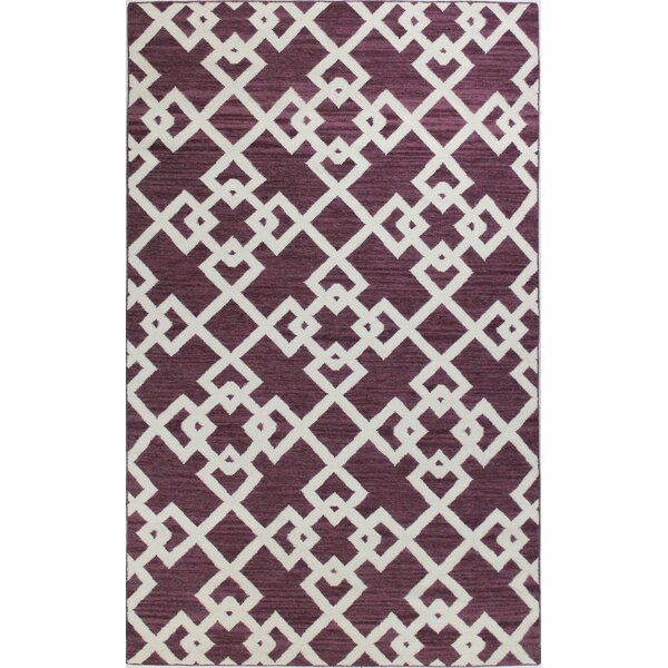 Rockport Lilac Area Rug by Bashian Rugs