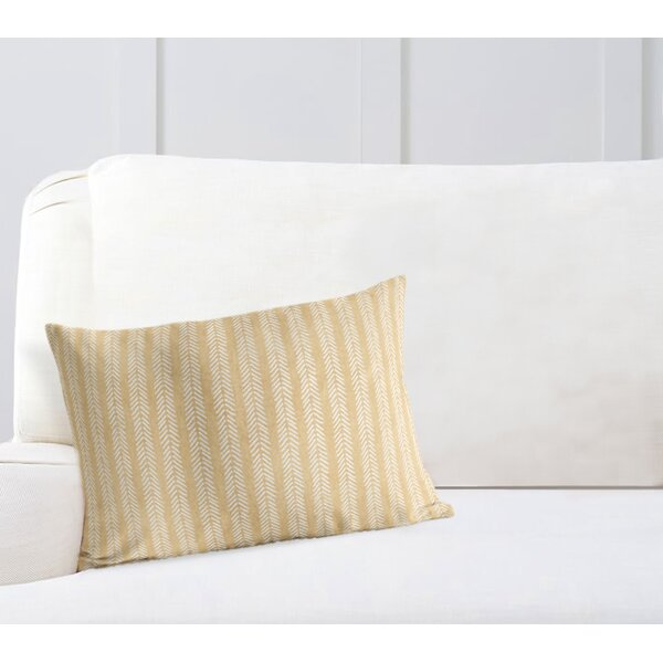 Couturier Striped Lumbar Pillow by Mistana