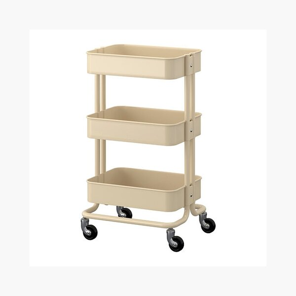 Kitchen Book Cart By Offex.