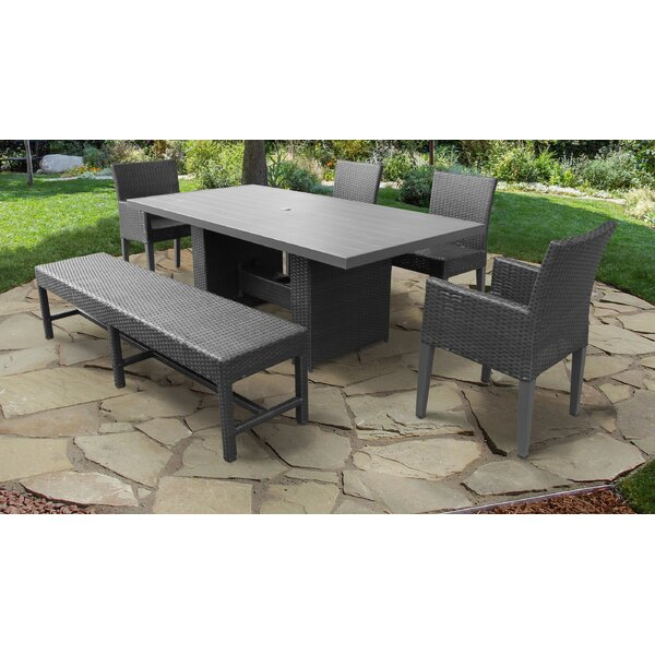 Tegan 6 Piece Dining Set by Sol 72 Outdoor