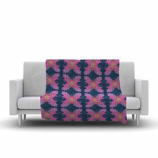 Compare prices Jane Smith Hamsa Pattern Fleece Blanket ByEast Urban Home