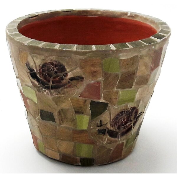 Round Ceramic Pot Planter by Houston International
