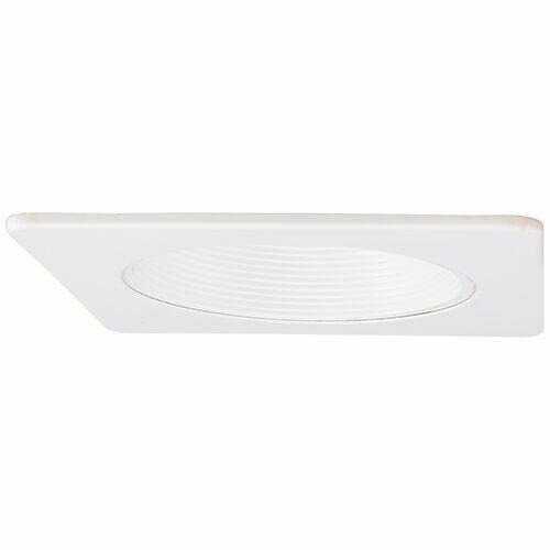 Square Phenolic Baffle 4 LED Recessed Trim by Elco Lighting