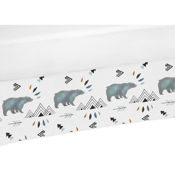 Bear Mountain Crib Bed Skirt by Sweet Jojo Designs