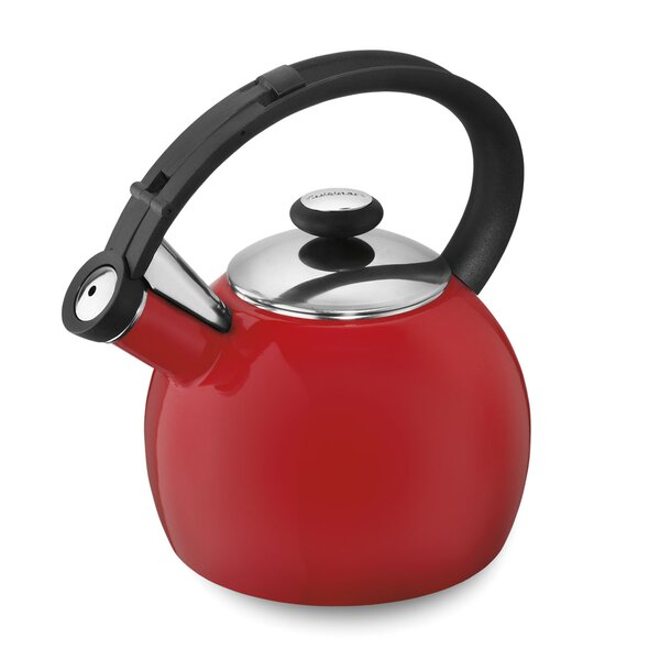 Omni™ 2-qt. Stainless Steel Stove Tea Kettle by