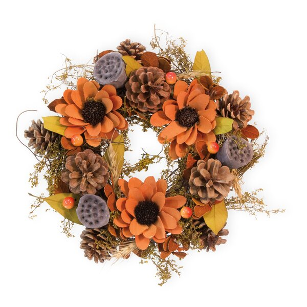 Bittersweet Autumn 10 Wreath by August Grove