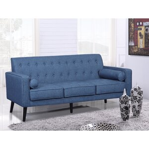 Valadez Mid Century Tufted Sofa by George Oliver