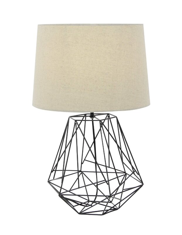 Metal wire 25 table lamp