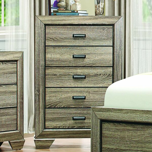 Henry 5 Drawer Chest by Loon Peak