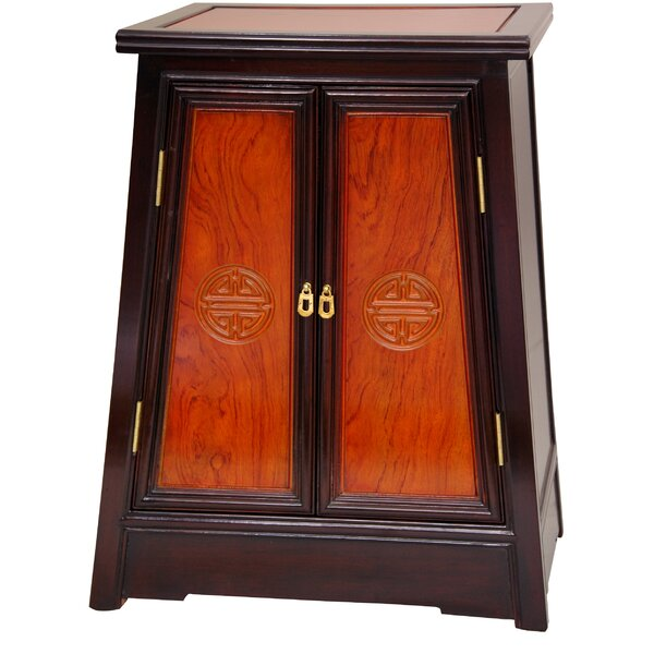 Hurd Accent Cabinet by World Menagerie World Menagerie