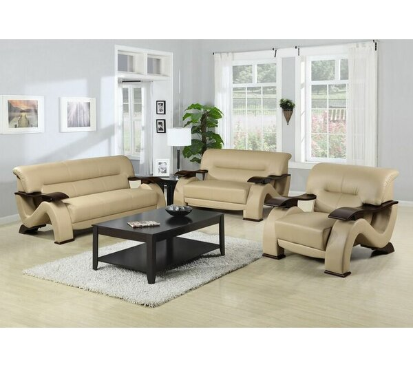 Ace 3 Piece Living Room Set by Beverly Fine Furniture