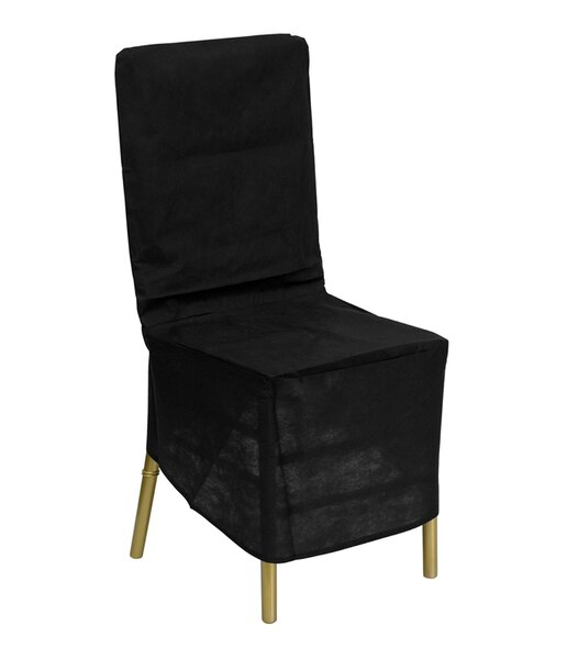 Fabric Dining Chair Slipcover by Winston Porter