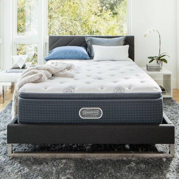 Beautyrest Silver 12 Medium Pillow Top Mattress and Box Spring by Simmons Beautyrest