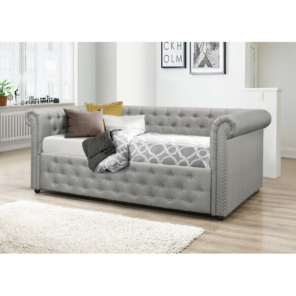 Salomon Upholstered Daybed by Canora Grey