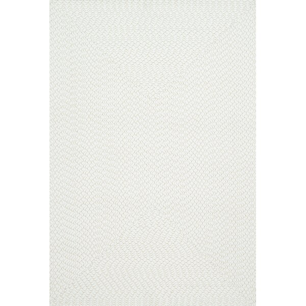 Daniell Hand-Woven Ivory Indoor/Outdoor Area Rug by Wrought Studio