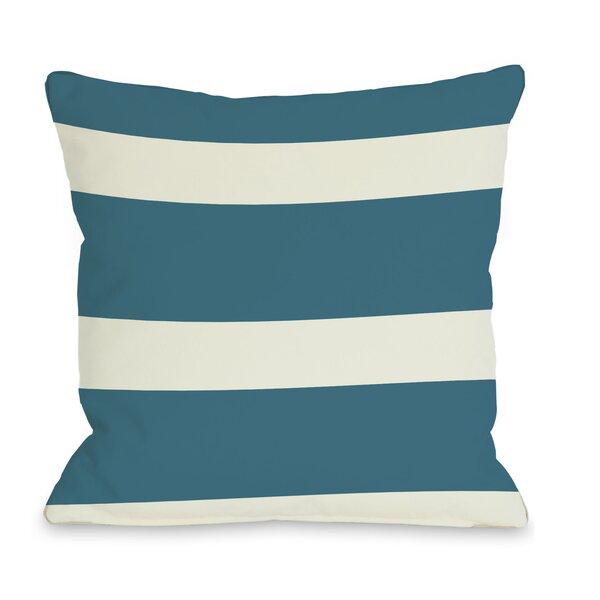 Helen Stripe Throw Pillow by One Bella Casa