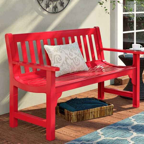 Olympia Cast Aluminum Park Bench by Darby Home Co