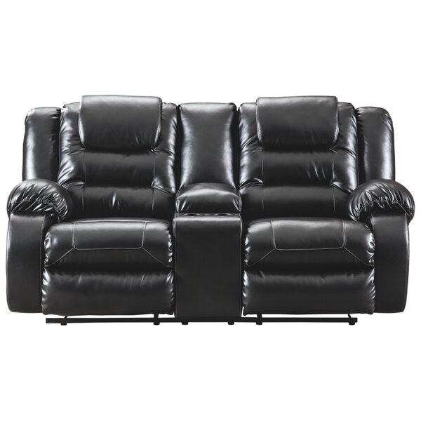 Get Name Brand Camellia Reclining Loveseat by Red Barrel Studio by Red Barrel Studio