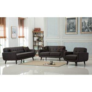 grey leather living room set. Modibella 2 Piece Living Room Set Modern Sets  AllModern
