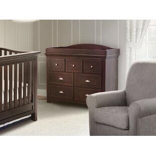 Inexpensive Slumber Time Augusta Molasses 7 Drawer Double Dresser BySimmons Kids
