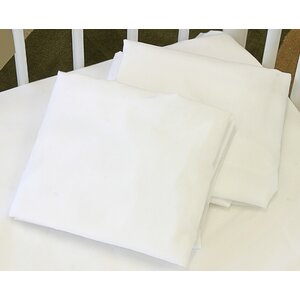 Cotton Knitted Flat Crib Sheet
