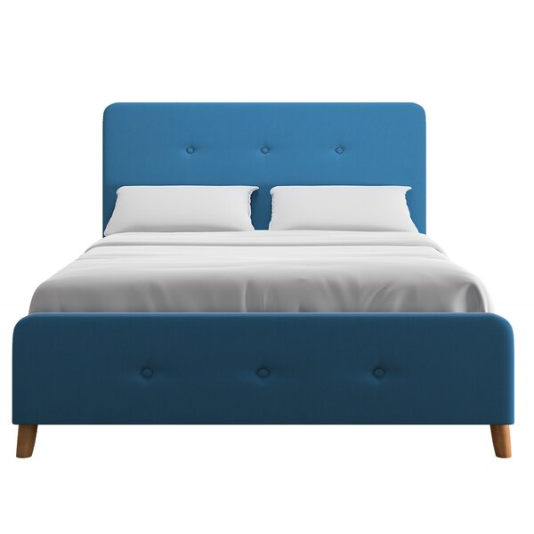 Staton Upholstered Standard Bed by Wrought Studio