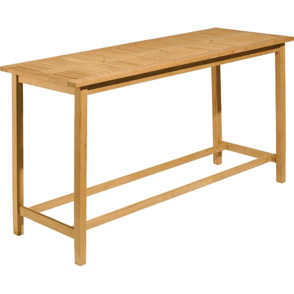 Dartmoor Long Bar Table by Wildon Home ®