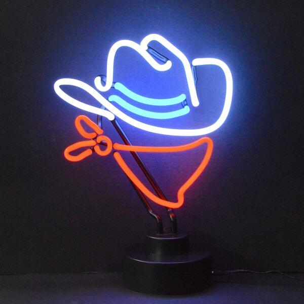 Cowboy Neon Sculpture by Neonetics