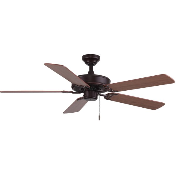 52 Philbrook 5-Blade Ceiling Fan by Charlton Home