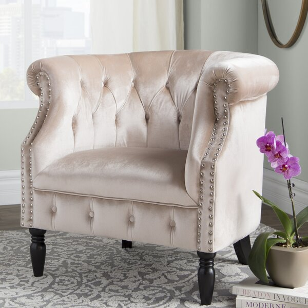 Lenita Chesterfield Chair by House of Hampton