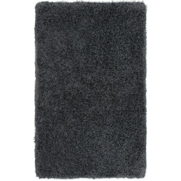 Nasim Charcoal Area Rug by Mercer41