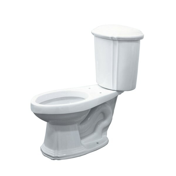 Monroe 1.6 GPF Elongated Two-Piece Toilet by Transolid