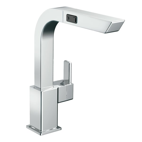 90 Degree Pull Out Single Handle Kitchen Faucet with Duralock™ by Moen