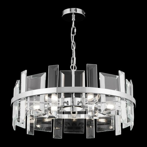 Lunsford 5-Light Drum Pendant Mercer41 Size: 34cm H x 60cm W