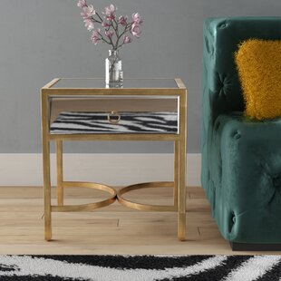 Chateau End Table with Storage