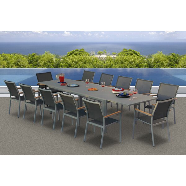 Essense 13 Piece Dining Set By Bellini Home And Garden