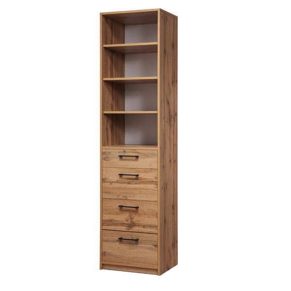 Nantucket Standard Bookcase by Millwood Pines