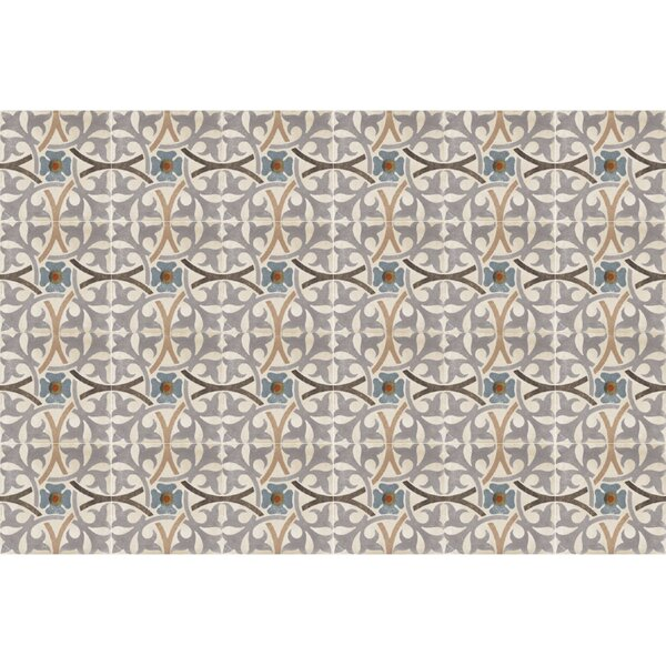 Design Evo 8 x 8 Porcelain Field Tile in Gray/Beige/Black by Travis Tile Sales