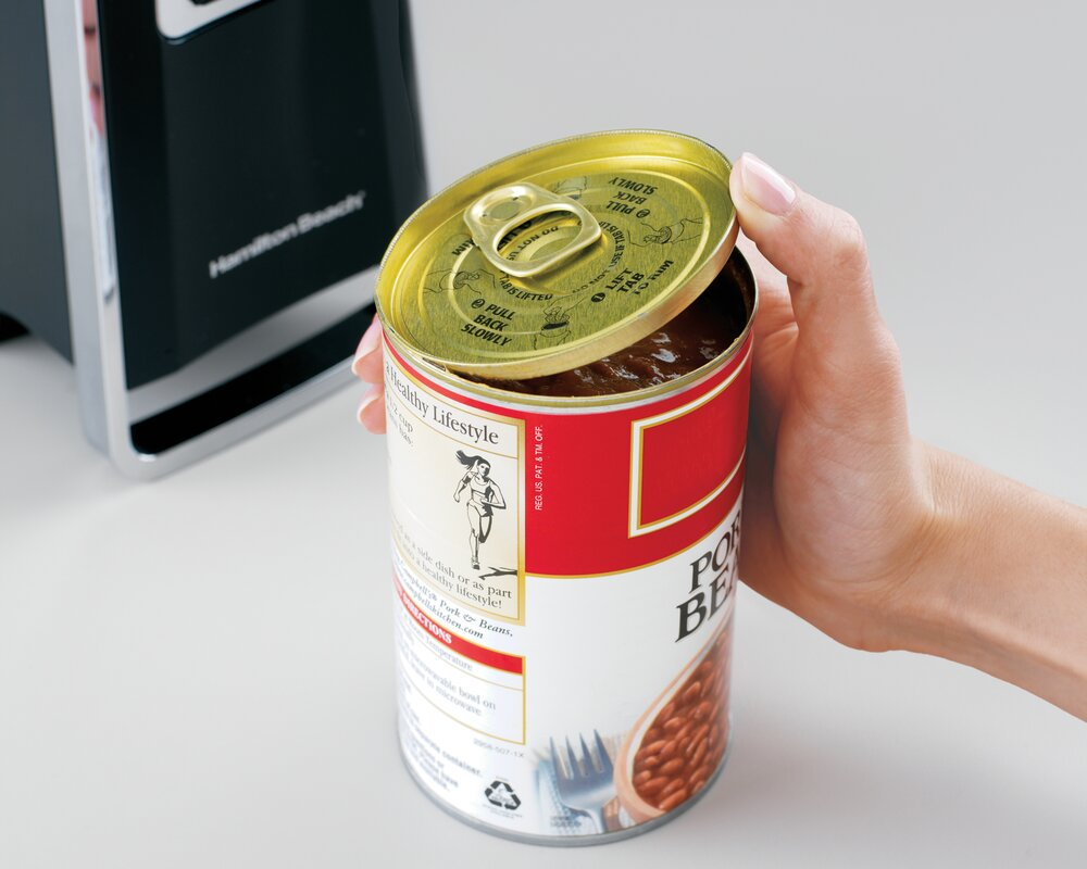 Under Cabinet Can Opener Stainless