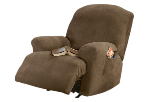 Stretch Pique T-Cushion Recliner Slipcover By Sure Fit
