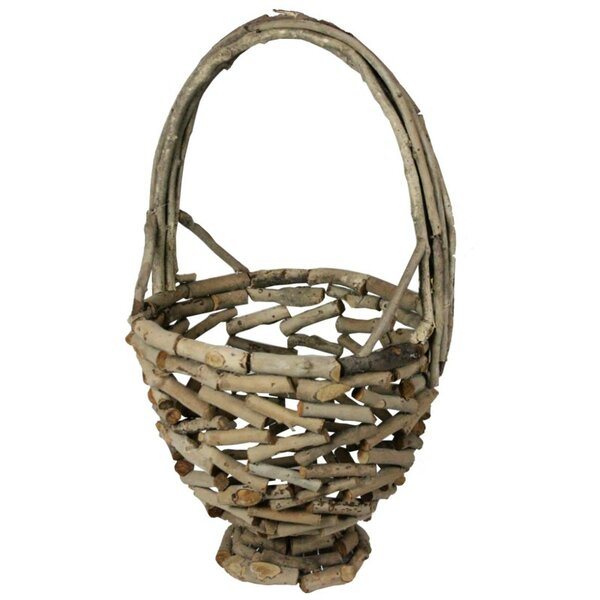 Wooden Basket by ESSENTIAL DÉCOR & BEYOND, INC
