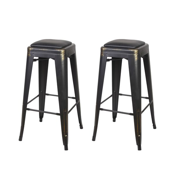 Apsel 30 Bar Stool (Set of 2) by 17 Stories