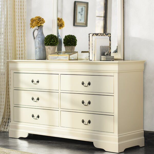Babcock 6 Drawer Double Dresser by Lark Manor