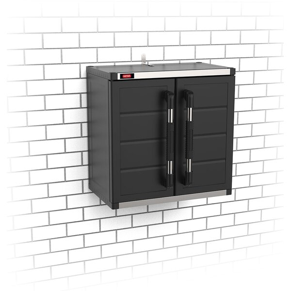 23.6 H x 23.6 W x 14.2 D XL Pro Hanging Wall Cabinet by Keter