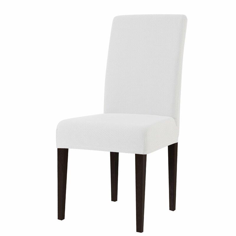 Knit Box Cushion Dining Chair Slipcover