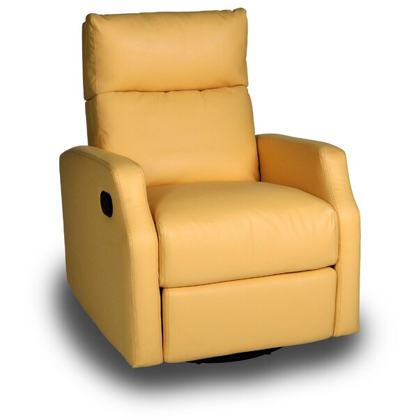 Chestnut Run Manual Swivel Recliner by Red Barrel